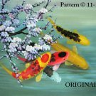 Oriental Koi 1 Cross Stitch Pattern Fish ~ETP~