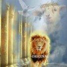 Lion & Lamb & Dove Cross Stitch Pat Christ Messiah ~ETP~