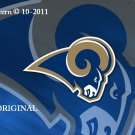 St. Louis Rams #6 Cross Stitch Pattern Football NFL ~ETP~