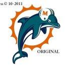 Miami Dolphins #2 Cross Stitch Pattern NFL Football ~ETP~