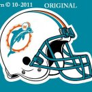 Miami Dolphins Helmet #1 Cross Stitch Pattern Football NFL ~ETP~