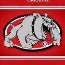 Georgia Bulldogs Poster Cross Stitch Pattern Football ~ETP~