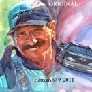 Dale Earnhardt Cross Stitch Pattern NASCAR ~ETP~