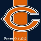 Chicago Bears #4 Cross Stitch Pattern NFL Football