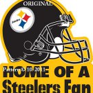 Home of a Steelers Fan Cross Stitch Pattern NFL Football ~ETP~