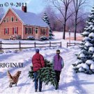 Our Christmas Tree Cross Stitch Pattern ~ETP~