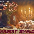 The Sabbath Table Cross Stitch Pat Messianic Jewish ~ETP~
