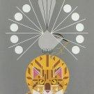Catnip Cross Stitch Pattern Charley Harper ~ETP~