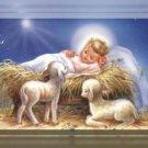 Birth of Baby Jesus Cross Stitch Pattern Bible Messiah ~ETP~
