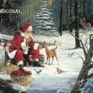 After Christmas With Santa Cross Stitch Pattern ~ETP~