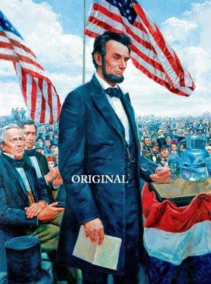 Gettysburg Address Cross Stitch Pattern Abraham Lincoln ~ETP~