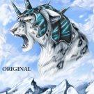 Fantasy Snow Leopard Cross Stitch Pattern Cats ~ETP~
