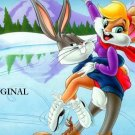 Bugs Bunny & Girlfriend Cross Stitch Pattern Disney ~ETP~