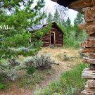 Cabin in The Woods Cross Stitch Pattern Log Cabin ~ETP~