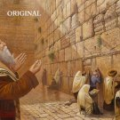 Power of Kotel Cross Stitch Pattern Jewish Messianic ETP