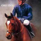 Before The Race Cross Stitch Pattern Horses Thoroughbreds ETP