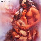 Bonded Love Cross Stitch Pattern Indian Native American ETP