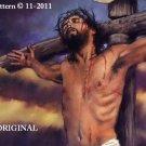 Yeshua~Jesus~Our Sacrifice Cross Stitch Pattern Messianic Bible Christian ETP