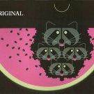 Watermelon 'Coons Cross Stitch Pattern Charles Harper ETP