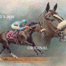 Zenyatta 1 Cross Stitch Pattern Race Horses ETP