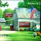 Coca Cola Country Store Cross Stitch Pattern ETP
