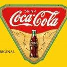 Coca Cola Poster Advert 1 Cross Stitch Pattern Coke ETP