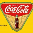 Coca Cola Poster Advert 1 Cross Stitch Pattern Coke ETP