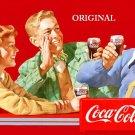 Coca Cola 'Together' Poster Cross Stitch Pattern Coke ETP