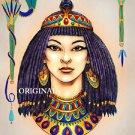 Egyptian Woman Cross Stitch Pattern ETP