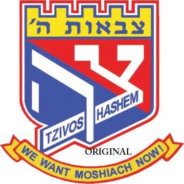We Want Moshiach Now...! Cross Stitch Pattern Jewish Messianic ETP