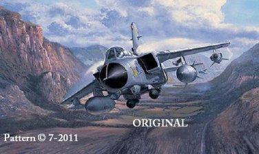 Tornado GR4 Cross Stitch Pattern Military Aircraft ETP
