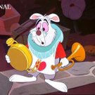 The White Rabbit Cross Stitch Pattern Alice in Wonderland Disney ETP