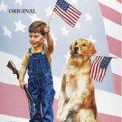 United We Stand Cross Stitch Pattern America Patriotic ETP
