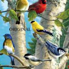 Favorite Songbirds Cross Stitch Pattern Birds ETP