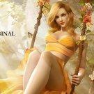 Fairy in Swing Cross Stitch Pattern Faeri Fantasy ETP