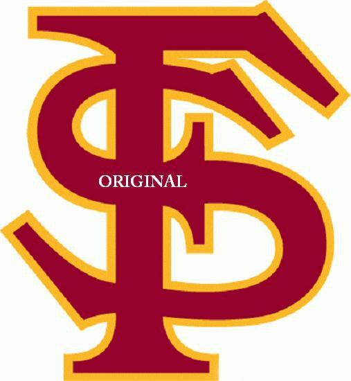 Florida State Seminoles #2 Cross Stitch Pattern Football ETP