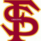 Florida State Seminoles #2 Cross Stitch Pattern Football ETP