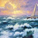 Storms of Life Cross Stitch Pattern Kinkade ETP