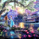 The Princess & The Frog Cross Stitch Pattern Kinkade Disney ETP