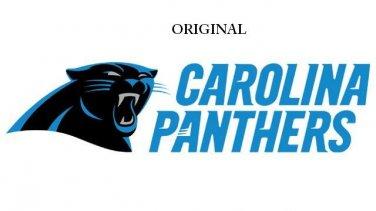 Carolina Panthers NFC South Cross Stitch Pattern Football ETP