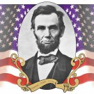Abraham Lincoln #1 Cross Stitch Pattern American President ETP