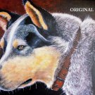 Blue Heeler Counted Cross Stitch Pattern Dogs ETP