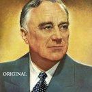 Franklin D. Roosevelt Cross Stitch Pattern American President ETP