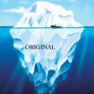 Iceberg Reality Cross Stitch Pattern ETP