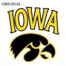 Iowa Hawkeyes #1 Cross Stitch Pattern Football ETP