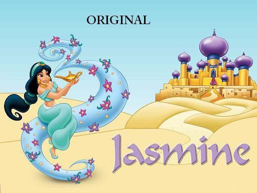Jasmine & The Lamp Cross Stitch Pattern Disney ETP