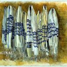Jewish Talit ~ Prayer Shawls Cross Stitch Pattern Messianic Israel ETP