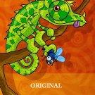 Lizard Life Cross Stitch Pattern Tropical ETP