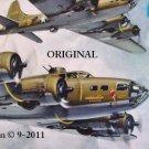 Memphis Belle Cross Stitch Pattern WWII MIlitary Aircraft ETP