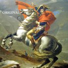 Napoleon @ the St. Bernard Pass Cross Stitch Pattern by Jacques-Louis David ETP